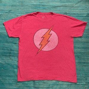DC comics red shirt The Flash